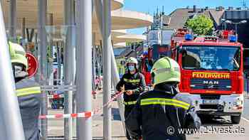 Herten: Wieder Betonbrocken am Busbahnhof in Herten-Mitte - 24VEST