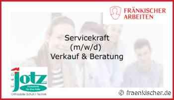 Servicekraft (m/w/d) für Verkauf & Beratung - fränkischer.de - Fränkischer.de