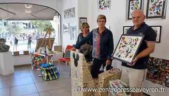 """Rodez : trois artistes créent l'événement """"artouristique"""" - Centre Presse Aveyron"""
