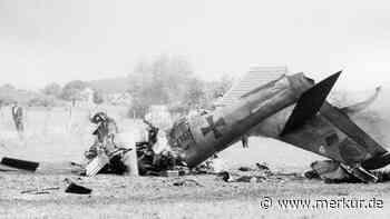 Grafing: Der vergessene Flugzeugabsturz von Dichau - Familie mit Riesenglück - Merkur.de
