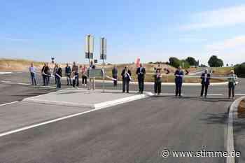 Auf der Haller Straße in Neuenstein rollt der Verkehr wieder - Heilbronner Stimme