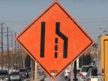 E.C. Row lane reduction scheduled to begin Monday