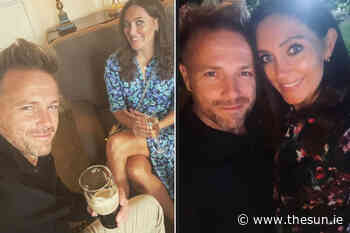 Westlife star Nicky Byrne's fans say he and wife Georgina are 'gorgeous' as he shares loved up snaps from Kerr - The Irish Sun