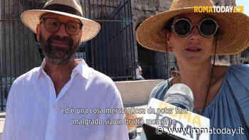VIDEO | La lenta ripartenza del turismo a Roma, le code per accedere al Colosseo e al Pantheon