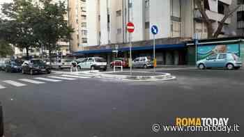 Casal Bruciato: l'attraversamento pedonale di piazza Crivelli è stato messo in sicurezza