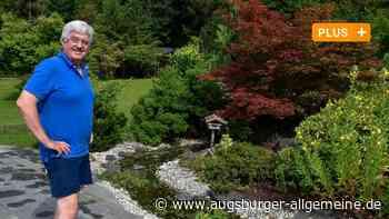 Im Garten von Familie Schmitz in Landsberg ist tierisch was los