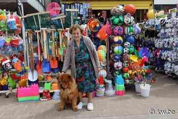 Maria Depoorter (93) runt nog altijd strandboetiek langs zeedijk in Koksijde
