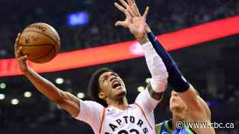 Raptors McCaw to leave NBA bubble for treatment of benign mass  on knee