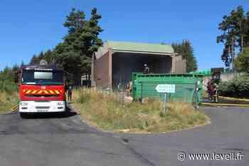 Craponne-sur-Arzon : un feu détruit des balles de carton à la déchetterie - L'Eveil de la Haute-Loire