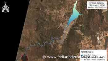 Una foto satelital muestra cómo los incendios contaminan el San Roque - El Diario de Carlos Paz