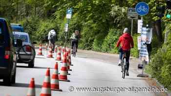 In Ingolstadt entstehen zwei Pop-up-Radwege - Augsburger Allgemeine