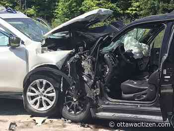 Three people in critical condition following head-on collision in Kanata