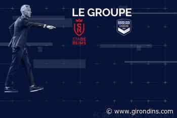 Le groupe pour Reims-Bordeaux