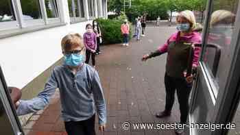 Soester Schüler hassen Masken, aber tragen sie im Unterricht - Soester Anzeiger