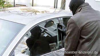 Autoknacker in Soest unterwegs: Dieb stiehlt Laptop aus Mercedes - Polizei gibt einen Tipp - Einbrecher sch... - Soester Anzeiger