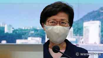 U.S. slaps sanctions on Carrie Lam, other Hong Kong officials