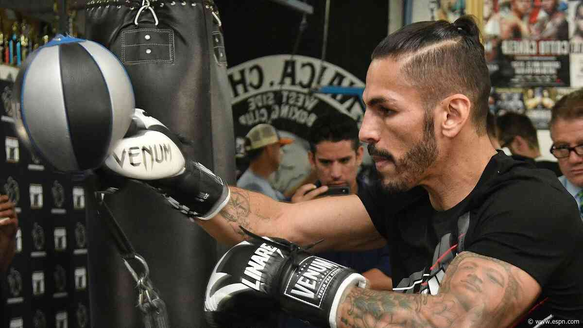 Linares tests positive; bout with Fortuna now off