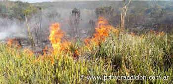 Cerro Santa Ana: se quemaron 100 hectáreas - Primera Edicion