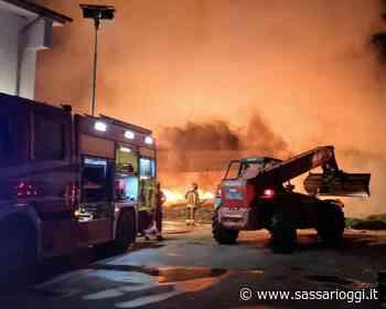 Bonorva, stabilimento dell'acqua Santa Lucia devastato dalle fiamme - Sassari Oggi