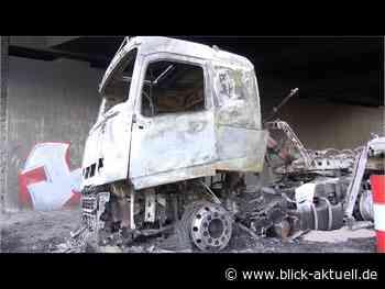 06.08.2020 - Lkw-Brand auf der A61 bei Sinzig - Blick aktuell