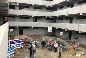 La Libertad: reconstrucción de colegio en distrito de Laredo culminará en noviembre - Agencia Andina