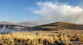 Cusco: registran nuevos enfrentamientos en los alrededores de la mina Antapaccay - El Comercio Perú