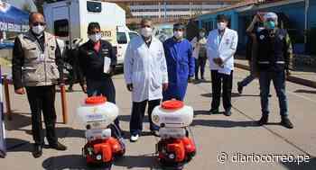 Hospital Regional de Cusco recibe equipo de desinfección y control de COVID-19 - Diario Correo