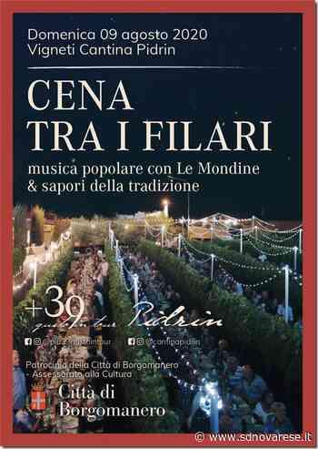 Cena tra i filari a Santa Cristina di Borgomanero - L'azione - Novara