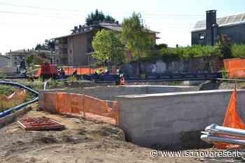A Borgomanero i lavori ai sottopassi ferroviari procedono celermente - L'azione - Novara