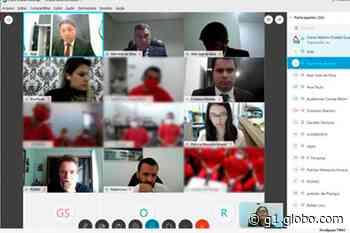 Audiência de instrução por videoconferência é realizada em Pitangui - G1