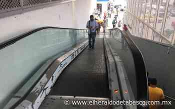 [Video] Rehabilitan escalera eléctrica del Pino Suárez - El Heraldo de Tabasco