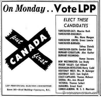 This Week in History: 1953 Louis St. Laurent leads the federal Liberals to a record fifth straight victory