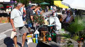 Flohmarkt-Saison in Schongau hat begonnen: Endlich wieder stöbern und feilschen - Merkur.de