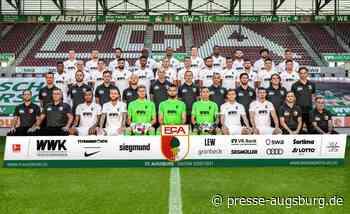 Bildergalerie | Der FC Augsburg präsentiert seine Mannschaft der Saison 2020/21 - Presse Augsburg
