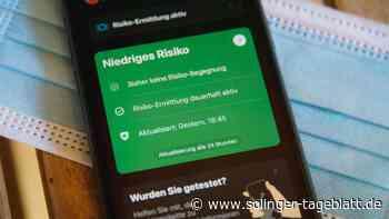 Solingen: Nur wenige Warnhinweise durch die Corona-App - solinger-tageblatt.de
