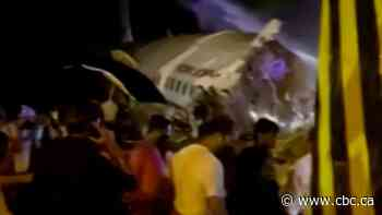 At least 17 dead in plane crash in southwestern India