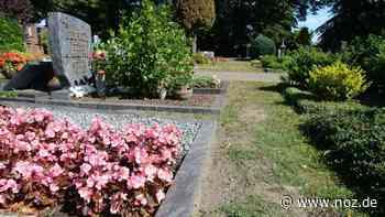 Wer entfernt Unkraut zwischen Gräbern auf Friedhof Hüttenstraße in Meppen? - Neue Osnabrücker Zeitung