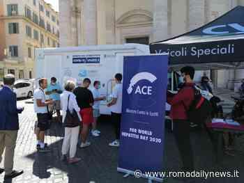 A Piazza del Popolo screening gratuiti Epatite C e Covid-19 - RomaDailyNews