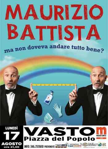 Maurizio+Battista%2C+spettacolo+in+piazza+del+Popolo - Histonium.net