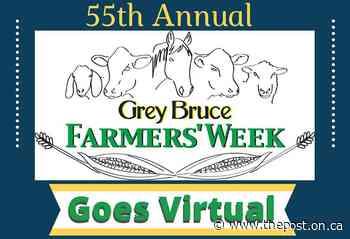 Grey Bruce Farmers' Week 2021 going virtual - The Post - Ontario