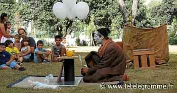 Le clown Barna a ravi ses petits spectateurs à Vannes - Le Télégramme