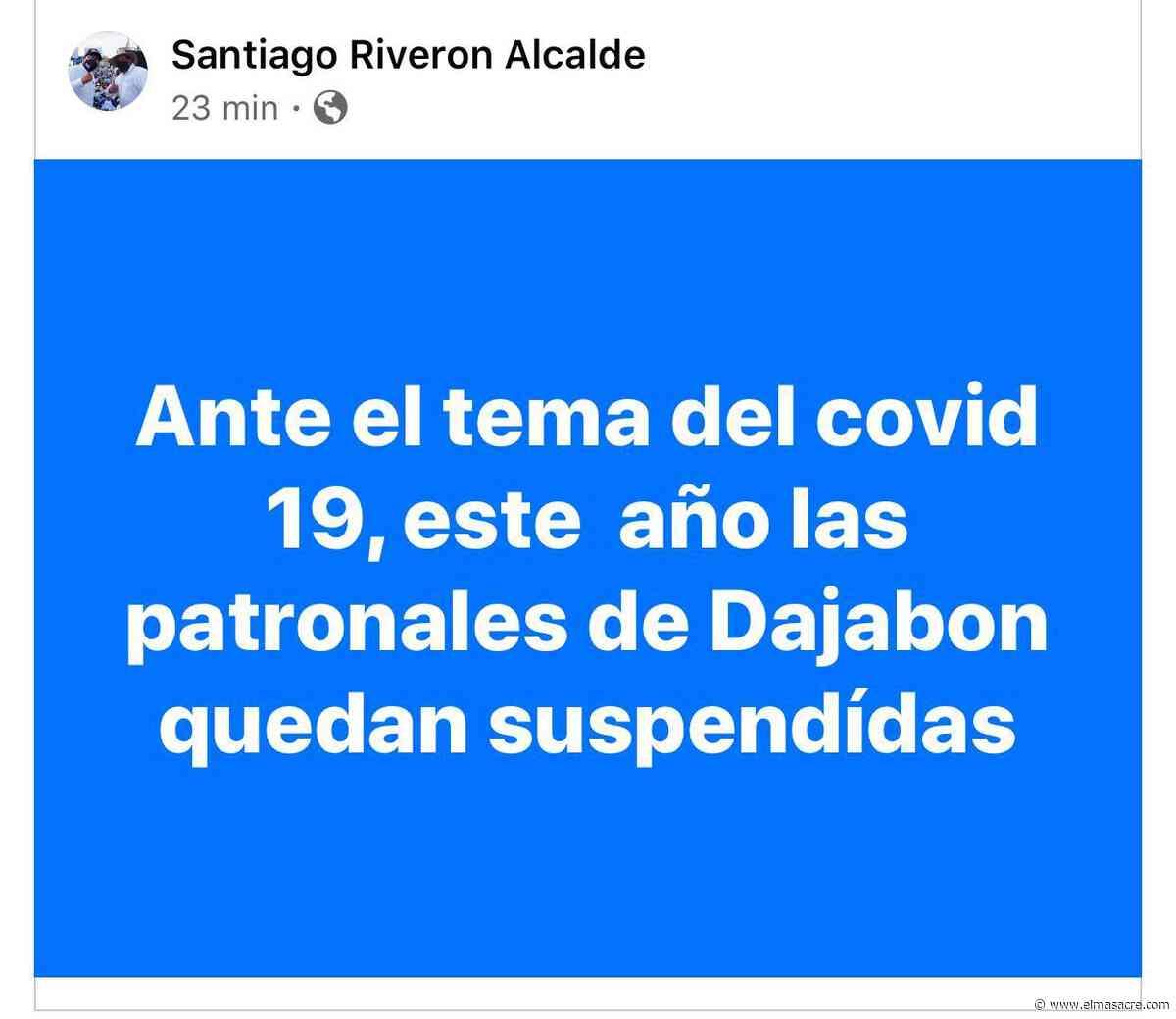 Ayuntamiento cancela patronales de Dajabón - El Masacre