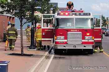Summerside Fire Department responds to call on Water Street - SaltWire Network