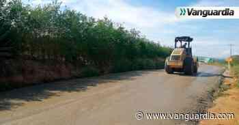 Se reactivaron trabajos de pavimentación en la vía Girón- Zapatoca - Vanguardia