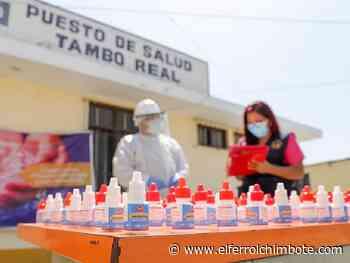 Coronavirus: Entregan ivermectina en la zona rural de Chimbote - El Ferrol de Chimbote