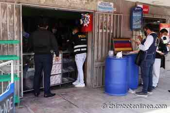 Chimbote: realizan nuevo operativo de control en locales de venta de alcohol - Diario Digital Chimbote en Línea