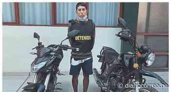 Chimbote: Policía detiene a sujeto que tenía dos motos robadas en su poder - Diario Correo