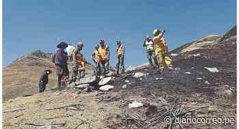 Incendio deja 780 hectáreas dañadas en Áncash - Diario Correo