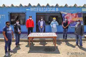Chimbote: distribuyen más de 1000 dosis de ivermectina para población rural - Agencia Andina