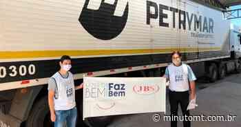 JBS reforça doações para Pontes e Lacerda (MT) - MinutoMT